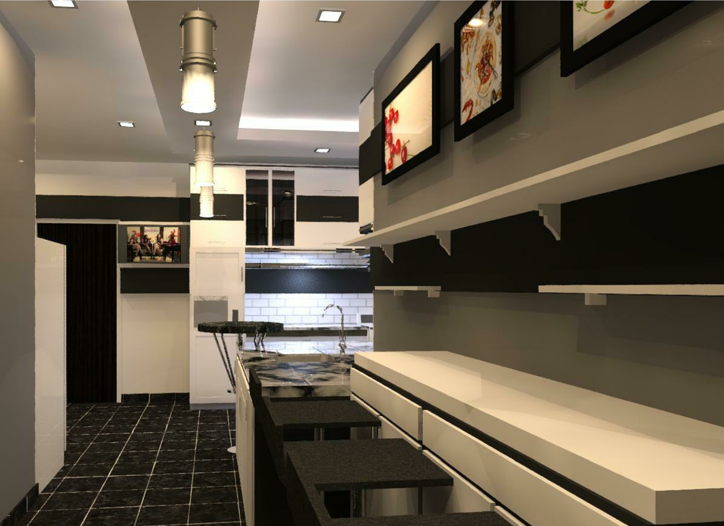 GET YOUR 3D KITCHEN AND DINNING DESIGN BY ANTIQUES AND DECOR