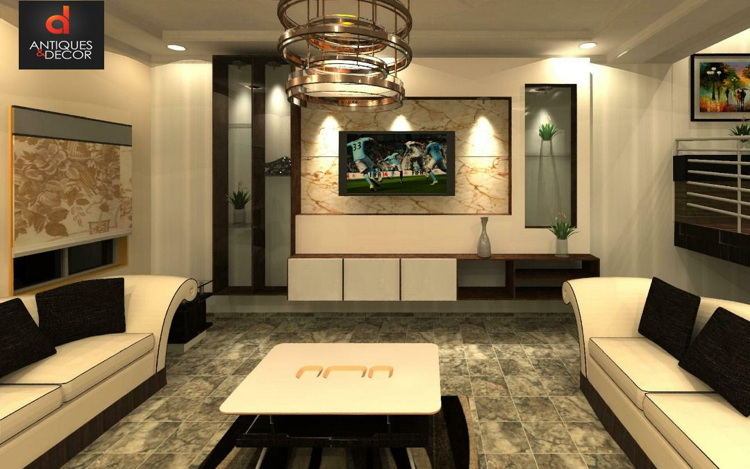 RESIDENTIAL 3D DESIGN BY ANTIQUES AND DECOR