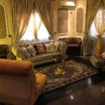 living room by antiques