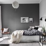 Slate grey Wall ideas for bedroom If you want to revel in the silent, slate gray wall thoughts for bedroom can be the high-quality idea to your bedroom enhance. The mixture between darkish gray wall and rugs are the best decoration for you who choose to have greater silent second to your bed room. Except, you may integrate the decoration with a green ornamental plant within the nook. This organic detail will make your design sense more refreshing. To aid the decorative plant, you may practice huge window that face to the sunrise so that you can get sufficient deliver of wholesome sunshine and sparkling air every morning.