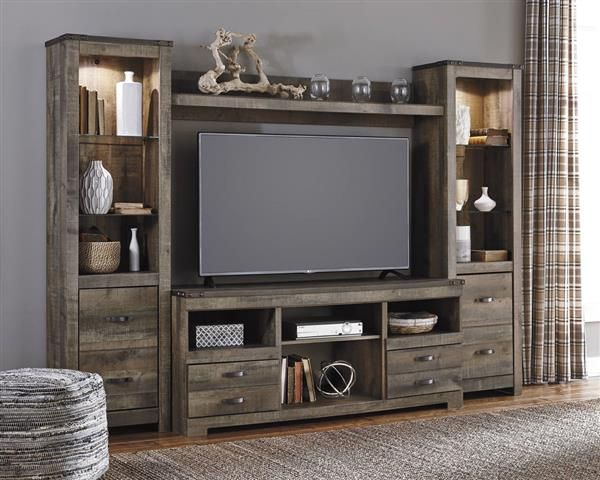 5 Conventional types of TV Wall Designs